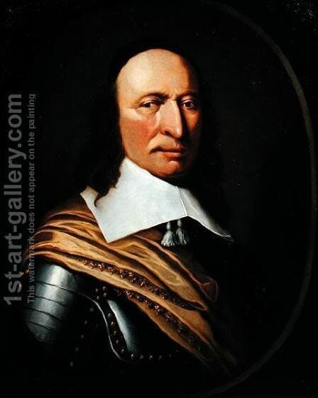 Governor Peter Stuyvesant (1592-1672), c.1660 by Hendrick  (attr.) Couturier - Reproduction Oil Painting