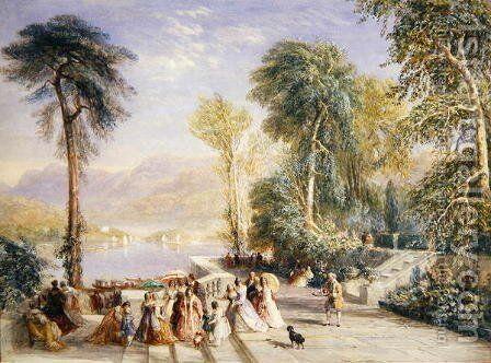 Windermere During the Regatta, 1832 by David Cox - Reproduction Oil Painting