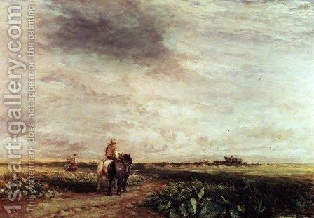 Landscape by David Cox - Reproduction Oil Painting