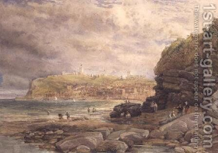 Scarborough by David Cox - Reproduction Oil Painting