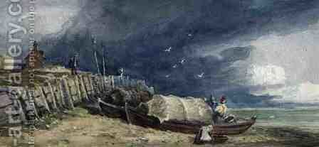 Millbank, 1829 by David Cox - Reproduction Oil Painting