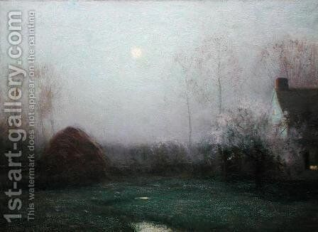 May Moon, 1907 by Bruce Crane - Reproduction Oil Painting