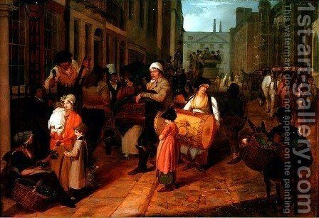 Oak Apple Day, 1812 by Charles Cranmer - Reproduction Oil Painting