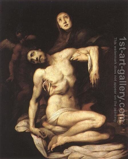 The Pieta 1626 by Daniele Crespi - Reproduction Oil Painting