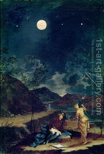Astronomical Observations 4 by Donato Creti - Reproduction Oil Painting