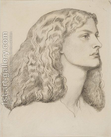Annie Miller 2 by Dante Gabriel Rossetti - Reproduction Oil Painting