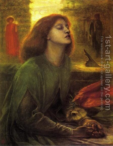 Beata Beatrix by Dante Gabriel Rossetti - Reproduction Oil Painting