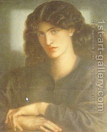 The Lady of Pity by Dante Gabriel Rossetti - Reproduction Oil Painting