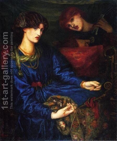 Mariana by Dante Gabriel Rossetti - Reproduction Oil Painting