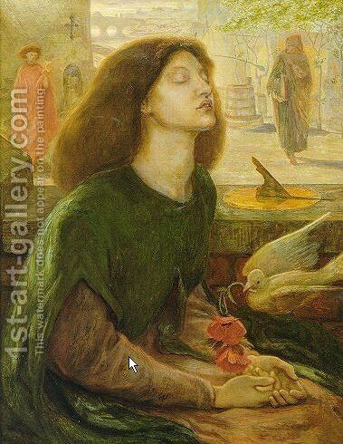 Beata Beatrix I by Dante Gabriel Rossetti - Reproduction Oil Painting