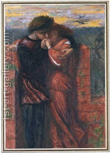 Carlisle Wall by Dante Gabriel Rossetti - Reproduction Oil Painting
