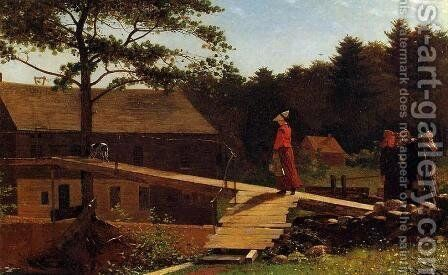 The Morning Bell by Winslow Homer - Reproduction Oil Painting