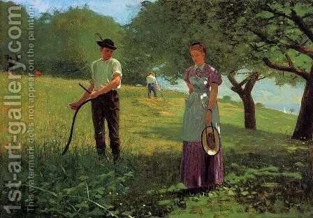 Waiting for an Answer by Winslow Homer - Reproduction Oil Painting