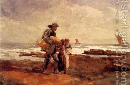 Homecoming by Winslow Homer - Reproduction Oil Painting