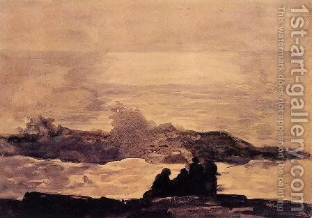 A Summer Night II by Winslow Homer - Reproduction Oil Painting