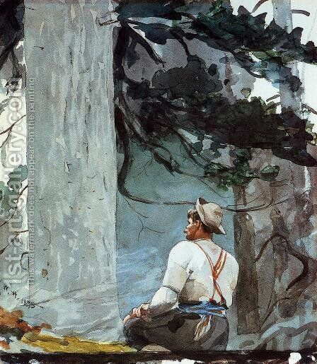 The Guide by Winslow Homer - Reproduction Oil Painting
