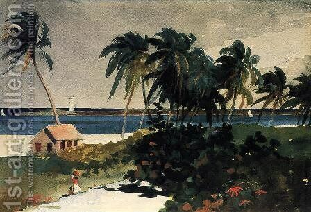 Nassau I by Winslow Homer - Reproduction Oil Painting