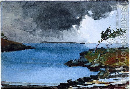 The Coming Storm by Winslow Homer - Reproduction Oil Painting
