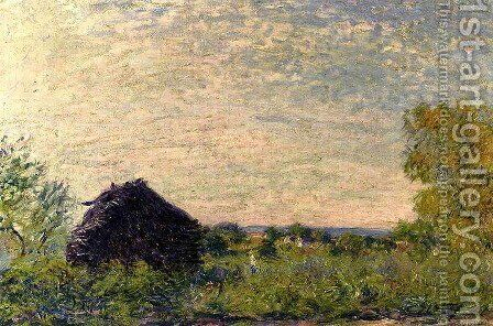 Haystack by Alfred Sisley - Reproduction Oil Painting