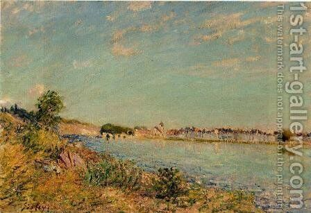 Saint-Mammes by Alfred Sisley - Reproduction Oil Painting