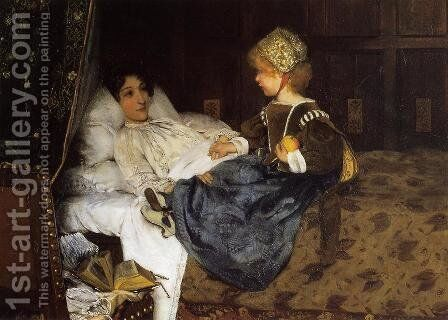 Always Welcome by Sir Lawrence Alma-Tadema - Reproduction Oil Painting