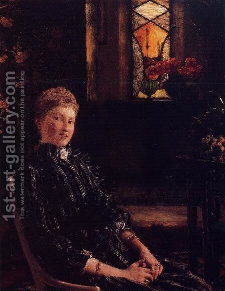 Mrs. Ralph Sneyd by Sir Lawrence Alma-Tadema - Reproduction Oil Painting