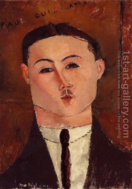 Paul Guillaume by Amedeo Modigliani - Reproduction Oil Painting