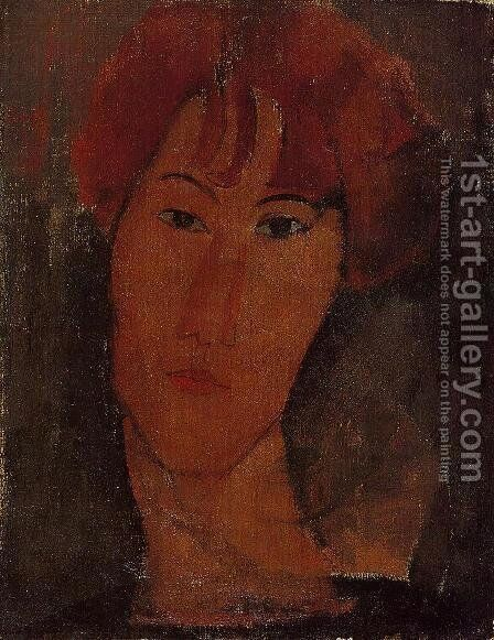 Portrait of Pardy by Amedeo Modigliani - Reproduction Oil Painting