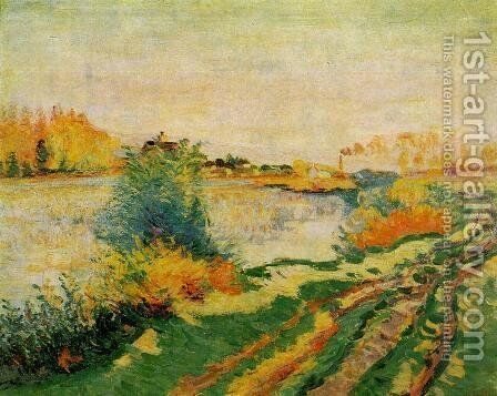 Landscape II by Armand Guillaumin - Reproduction Oil Painting