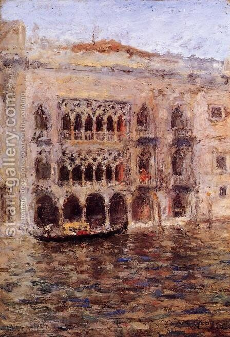 Venice 2 by William Merritt Chase - Reproduction Oil Painting