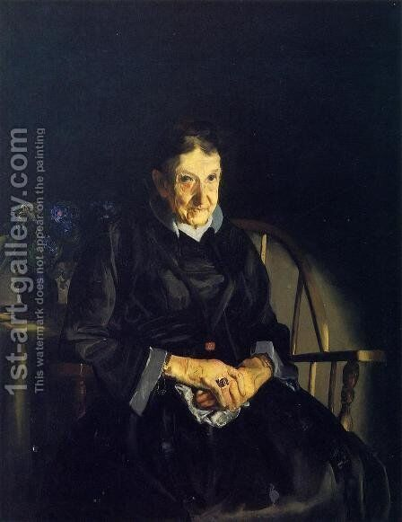 Aunt Fanny by George Wesley Bellows - Reproduction Oil Painting