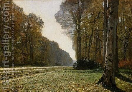 Le Pave de Chailly by Claude Oscar Monet - Reproduction Oil Painting