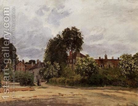 Argenteuil, the Hospice by Claude Oscar Monet - Reproduction Oil Painting