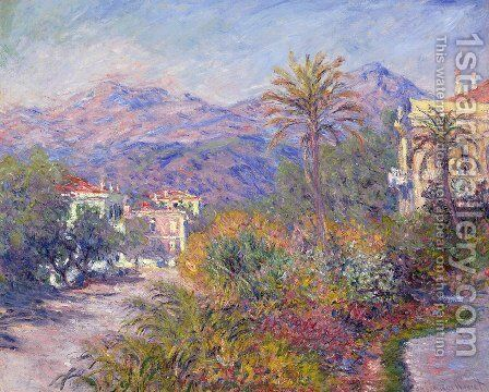 Strada Romada in Bordighera by Andre Giroux - Reproduction Oil Painting
