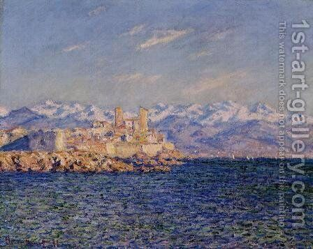 Antibes, Afternoon Effect by Claude Oscar Monet - Reproduction Oil Painting