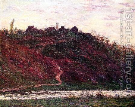 The Village of La Coche-Blond, Evening by Claude Oscar Monet - Reproduction Oil Painting