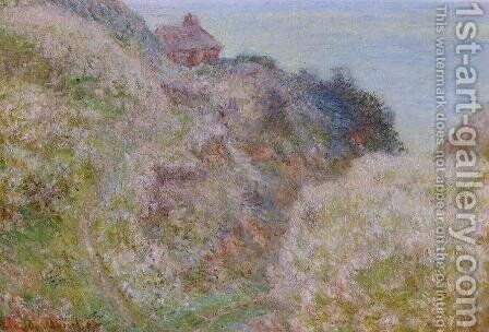 The Gorge du Petit Ailly, Verengeville, Grey Weather by Claude Oscar Monet - Reproduction Oil Painting