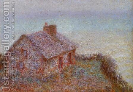 Customs House at Varengeville by Claude Oscar Monet - Reproduction Oil Painting
