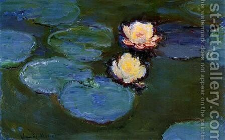 Water-Lilies 42 by Claude Oscar Monet - Reproduction Oil Painting
