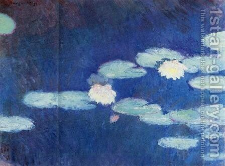 Water-Lilies I by Claude Oscar Monet - Reproduction Oil Painting