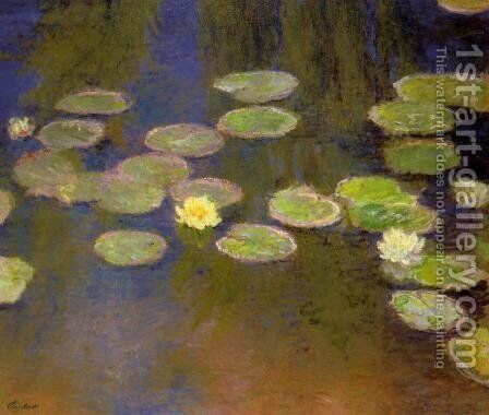 Water-Lilies II by Claude Oscar Monet - Reproduction Oil Painting