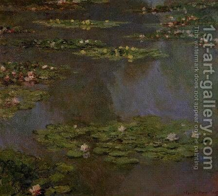 Water-Lilies X by Claude Oscar Monet - Reproduction Oil Painting