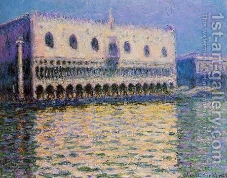 The Palazzo Ducale I by Claude Oscar Monet - Reproduction Oil Painting