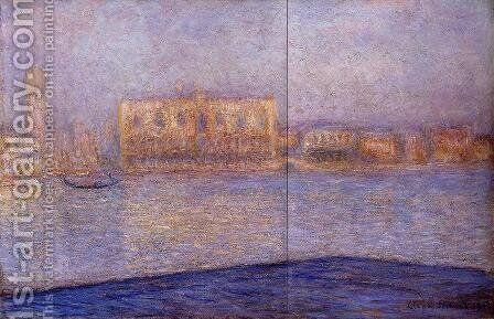 The Doges' Palace Seen from San Giorgio Maggiore I by Claude Oscar Monet - Reproduction Oil Painting