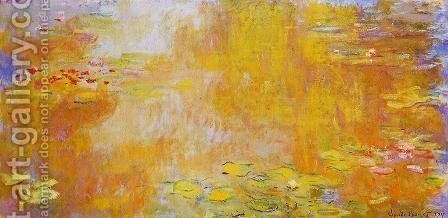The Water-Lily Pond V by Claude Oscar Monet - Reproduction Oil Painting