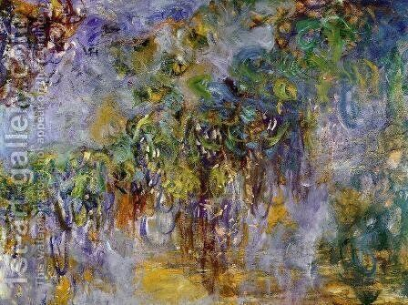 Winteria (right half) by Claude Oscar Monet - Reproduction Oil Painting