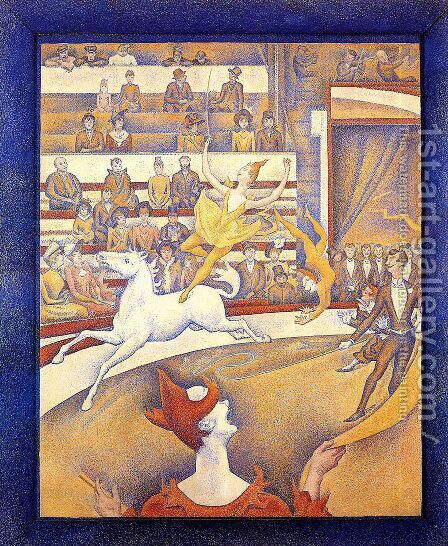 The Circus by Georges Seurat - Reproduction Oil Painting