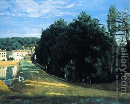 Ville d'Avray - the Chemin de Corot by Jean-Baptiste-Camille Corot - Reproduction Oil Painting