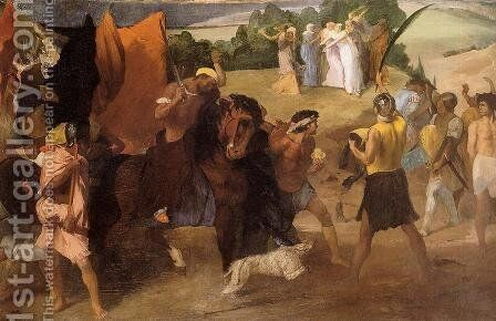 The Daughter of Jephtha by Edgar Degas - Reproduction Oil Painting