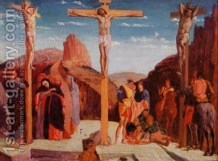 The Crucifixion (after Matagna) by Edgar Degas - Reproduction Oil Painting